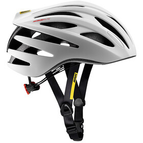 Mavic Aksium Elite Fietshelm Heren, white/black